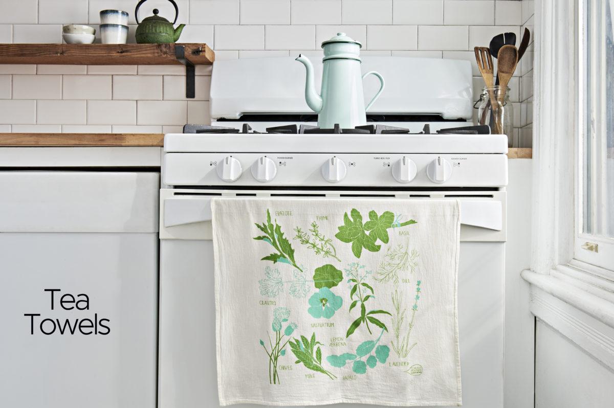 Tea Towels | Claudia Pearson Illustration