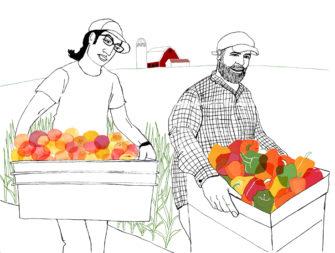 Farmers, Upstate New York