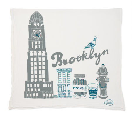 brooklyn tea towel