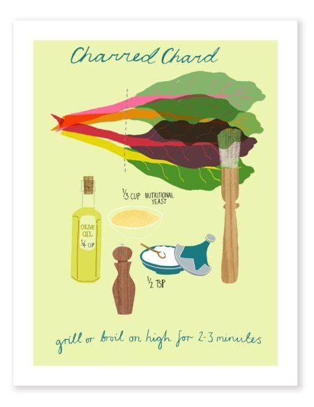 Charred Chard