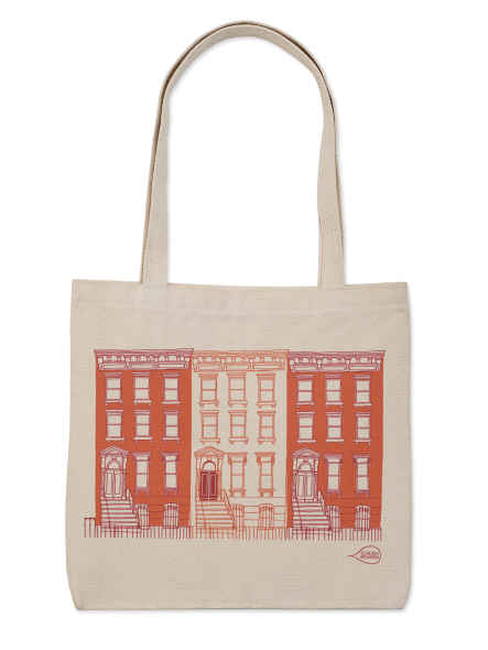 CP tote natural flat brownstone-6826