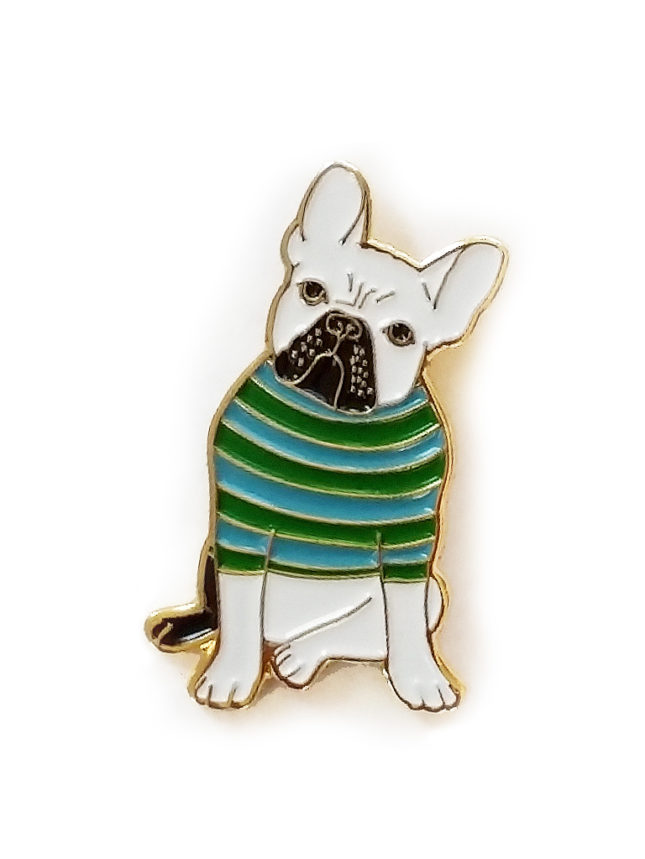 Dog Enamel Pin | Claudia Pearson Illustration